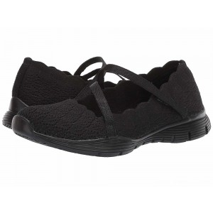 Skechers Seager - Strike Out Black/Black [Sale]