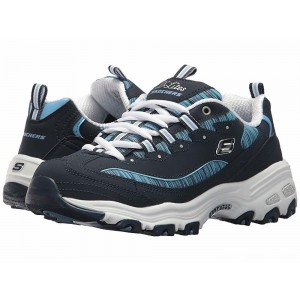 Skechers D'Lites Interlude Navy Blue [Sale]