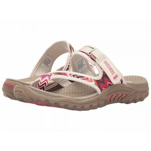 Skechers Reggae - Zig Swag Natural [Sale]