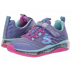 Skechers KIDS Funfetti 81594L (Little Kid/Big Kid) Blue/Multi [Sale]