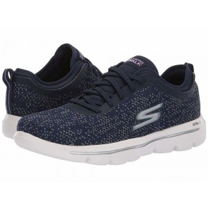 Skechers Performance Go Walk Evolution Ultra - 15736 Navy/White [Sale]