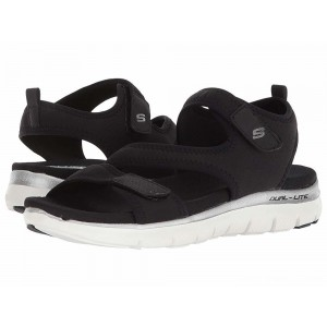 Skechers Flex Appeal 2.0 – Summer Patrol Black [Sale]