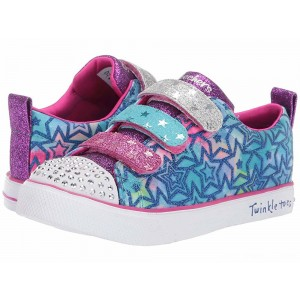 Skechers KIDS Twinkle Breeze 2.0 Sparkle Dust 20160L (Little Kid/Big Kid) Blue/Multi [Sale]