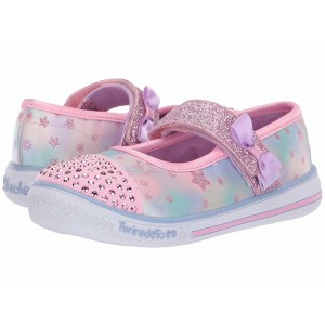 Skechers KIDS Twinkle Play Starry Sparks 20140N (Toddler/Little Kid) Pink/Multi [Sale]