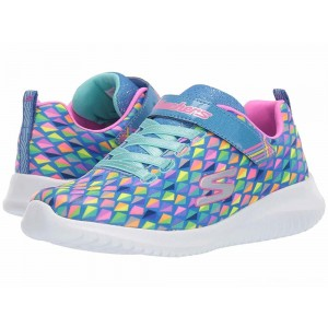 Skechers KIDS Ultra Flex 81544L (Little Kid/Big Kid) Blue/Multi [Sale]