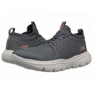 Skechers Performance Go Walk Evolution Ultra Turbo Charcoal/Orange [Sale]