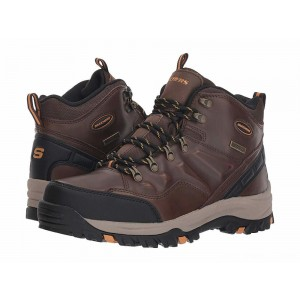 Skechers Relaxed Fit Resment Traven Dark Brown [Sale]