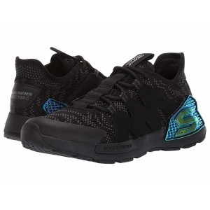 Skechers KIDS Kinectors 97677L (Little Kid/Big Kid) Black/Charcoal [Sale]