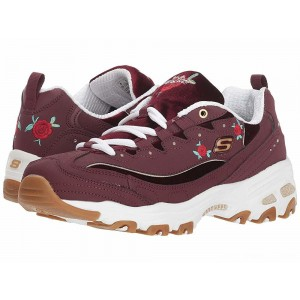 Skechers D'Lite - Rose Blooms Burgundy [Sale]