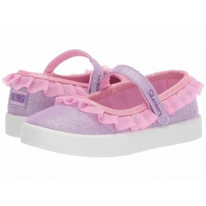 Skechers KIDS B-Loved 85786N (Toddler) Lavendar/Pink [Sale]