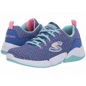 Skechers KIDS Triple Flex 81598L (Little Kid/Big Kid) Blue/Aqua [Sale]