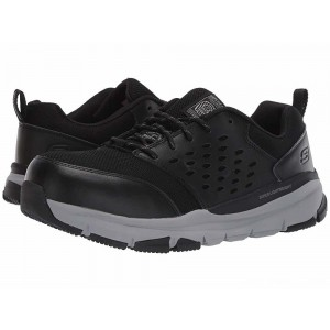 Skechers Work Soven Alloy Toe SR Black/Gray [Sale]