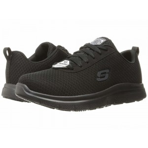Skechers Work Flex Advantage SR - Bendon Black Mesh/Water/Stain Repellent Treatment [Sale]