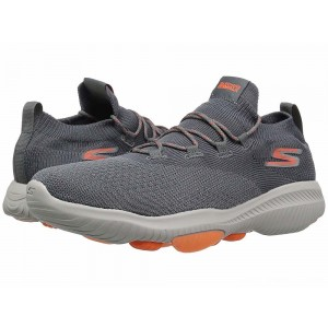 Skechers Performance Go Walk Revolution Ultra Charcoal/Orange [Sale]