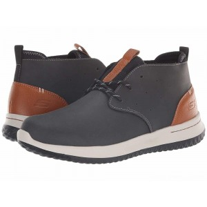 Skechers Delson Clenton Black [Sale]