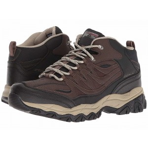 Skechers Afterburn M. Fit Mid Brown/Black [Sale]