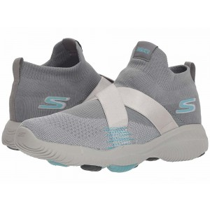 Skechers Performance Go Walk Revolution Ultra Bolt Grey/Blue [Sale]