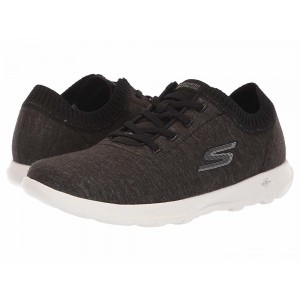 Skechers Performance Go Walk Lite Floret Black/White [Sale]