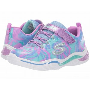 Skechers KIDS Power Petals 20203L (Little Kid/Big Kid) Lavendar/Multi [Sale]