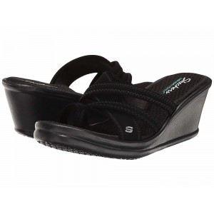 Skechers Rumblers Young At Heart Black [Sale]