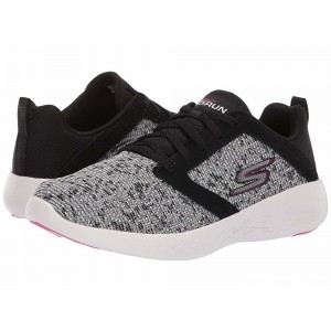Skechers Go Run 600 Black/White/Pink [Sale]