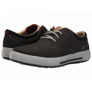 Skechers Classic Fit Porter - Zevelo Black Canvas [Sale]