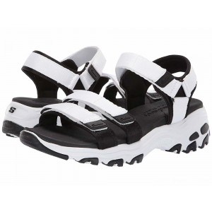 Skechers D'Lites - Fresh Catch White/Black [Sale]