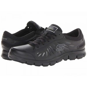 Skechers Work Eldred - Relaxed Fit Black [Sale]