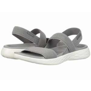 Skechers Performance On-The-Go 600 - Flawless Gray/White [Sale]