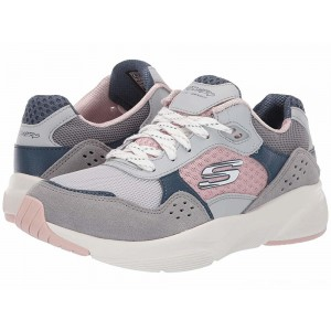 Skechers Meridian - Charted Grey/Pink [Sale]