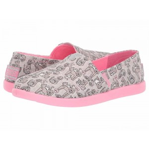 Skechers KIDS Solestice 2.0 85268L (Little Kid/Big Kid) Gray/Pink [Sale]