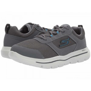 Skechers Performance Go Walk Evolution Ultra - 54734 Charcoal/Blue [Sale]