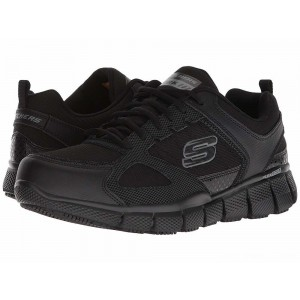 Skechers Work Telfin-Sanphet SR Black [Sale]