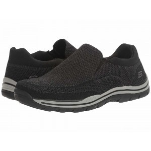 Skechers Relaxed Fit Expected - Gomel Black Knitted Mesh [Sale]