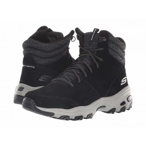 Skechers D'Lites - Chill Flurry Black [Sale]