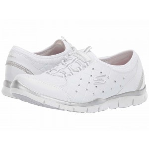 Skechers Gratis - High-Class White/Silver [Sale]