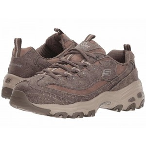 Skechers D'Lites Dark/Taupe [Sale]