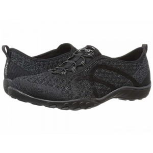 Skechers Breathe-Easy - Fortuneknit Black [Sale]