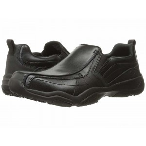 Skechers Classic Fit Larson - Berto Black Leather [Sale]