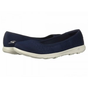 Skechers Performance GOwalk Lite - Dreamer Wide Navy/Gray [Sale]
