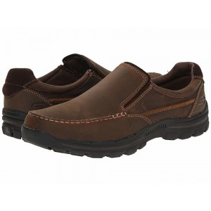 Skechers Relaxed Fit Braver - Rayland Dark Brown [Sale]