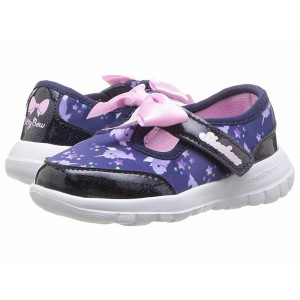 Skechers KIDS Go Walk Joy Sparkle Squad 81181N (Infant/Toddler/Little Kid) Navy/Multi [Sale]