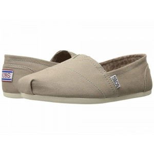 Skechers BOBS from Bobs Plush - Peace and Love Taupe [Sale]