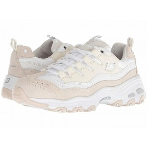 Skechers D'Lites - Sure Thing White/Natural [Sale]