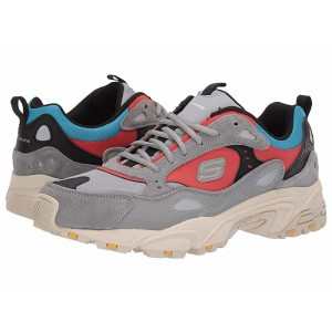 Skechers Stamina Contic Gray/Multi [Sale]