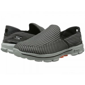 Skechers Performance Go Walk 3 Charcoal/Orange [Sale]