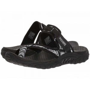 Skechers Reggae - Sparkle Swag Black/White [Sale]