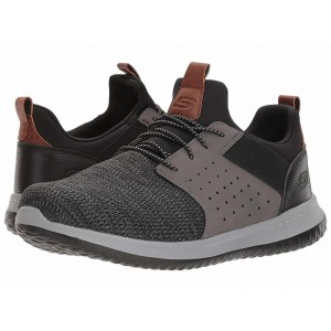 Skechers Classic Fit Delson Camben Black/Grey [Sale]