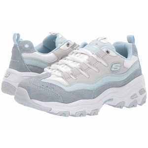 Skechers D'Lites - Sure Thing Light Blue/Grey [Sale]