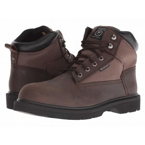Skechers Work Makanix  - Bridgend Brown [Sale]
